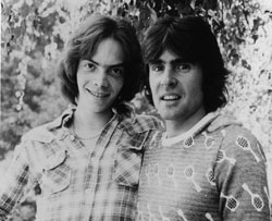 Davey Jones of the Monkees with david castle